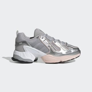 Кроссовки EQT Gazelle grey two f17 / matte silver / icey pink f17 EE5157