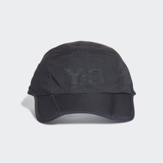 Y-3 Foldable Cap Black FQ6984