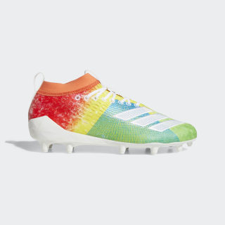 Adizero 8.0 Cleats True Orange / Cloud White / Shock Cyan F35077