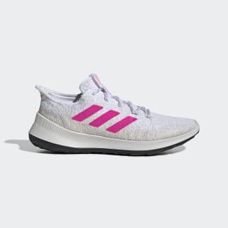 Кроссовки для бега Purebounce+ ftwr white / shock pink / grey one f17 G27237