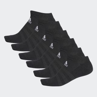 Medias Tobilleras Acolchadas 6 Pares Top:black/black/black/black Bottom:BLACK/BLACK DZ9382