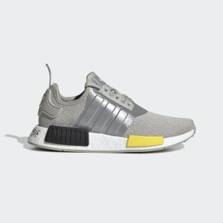 NMD_R1 Schoenen Metal Grey / Yellow / Core Black EF5857