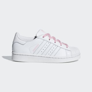 Tenis SUPERSTAR C Ftwr White / Ftwr White / Light Pink CG6626