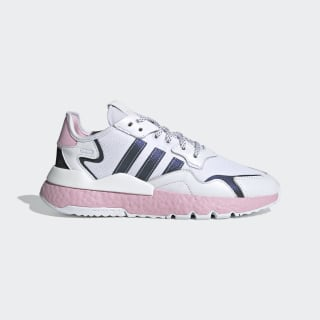 Zapatilla Nite Jogger Cloud White / True Pink / Core Black EG7942