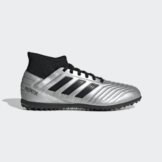 รองเท้าฟุตบอล Predator Tango 19.3 Turf Silver Metallic / Core Black / Hi-Res Red G25802