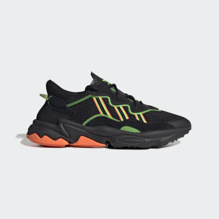 Zapatilla OZWEEGO Core Black / Solar Green / Hi-Res Coral EE5696