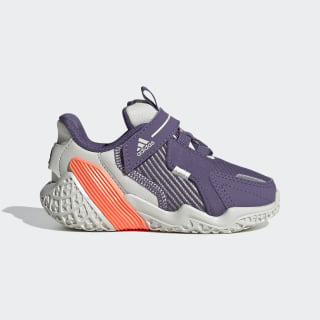 Tenis para correr 4UTURE Runner Orbit Grey / Tech Purple / Signal Coral EG8340