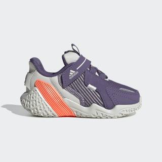 Zapatillas para correr 4UTURE Runner Orbit Grey / Tech Purple / Signal Coral EG8340
