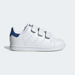 Chaussures Stan Smith Cloud White / Cloud White / Eqt Blue S74782