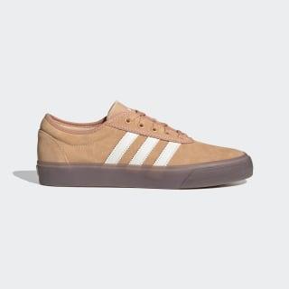 Adiease Schuh Glow Orange / Chalk White / Gum EG2495