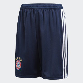 Short FC Bayern Local Niño 2018 Collegiate Navy / White CF5417