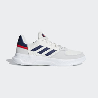Tenis Fusion Flow cloud white / dark blue / active red F36231