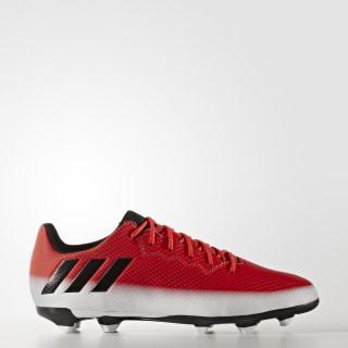 Botas Messi 16.3 Terreno Firme Red / Core Black / Cloud White BA9148