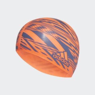 Bonnet de bain Tokyo Graphic Solar Red / Tech Indigo FJ4972