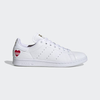 Кроссовки Stan Smith Cloud White / Cloud White / Scarlet FW6390