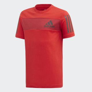 Camiseta Sport ID scarlet/active maroon/black ED6504