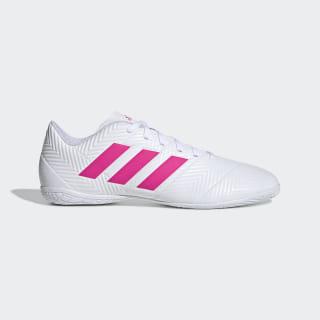Chuteira Nemeziz Tango 18.4 Futsal Cloud White / Shock Pink / Shock Pink D97995
