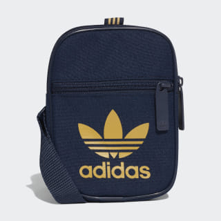 Trefoil Festival Bag Collegiate Navy / Raw Sand DV2408