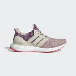 UltraBOOST Schuh Clear Brown / Shock Red / Active Blue F36122