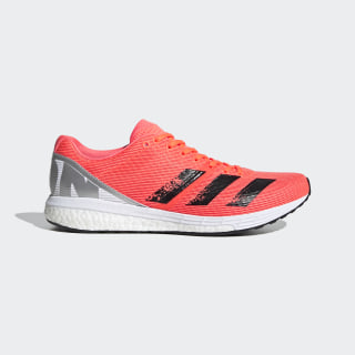 Zapatilla Adizero Boston 8 Signal Coral / Core Black / Cloud White EG7893