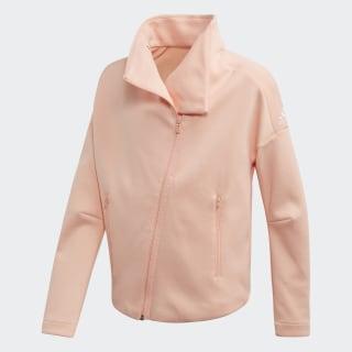 Chamarra ID Glow Pink / White ED4644