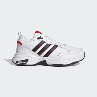 Strutter Wide Shoes Cloud White / Core Black / Active Red EG5140