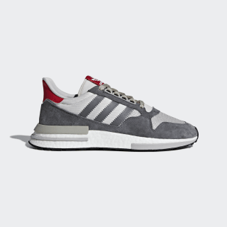 ZX 500 RM Shoes Grey Four / Ftwr White / Scarlet B42204