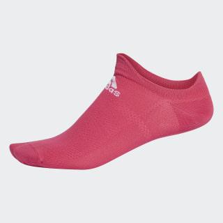 Socquettes invisibles Alphaskin Ultralight Real Magenta / White CZ5247
