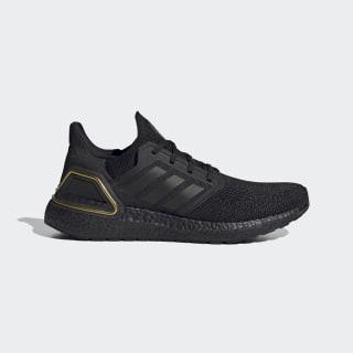 Sapatos Ultraboost 20 Core Black / Core Black / Gold Metallic EG0754