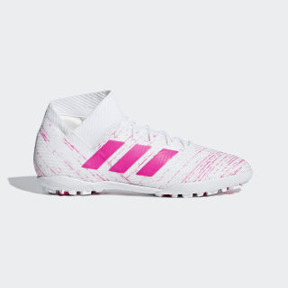Zapatos de Fútbol Nemeziz Tango 18.3 Césped Artificial Ftwr White / Shock Pink / Shock Pink D97984