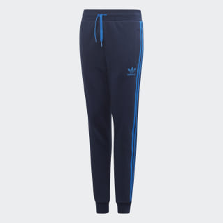 Pantaloni 3-Stripes Collegiate Navy / Bluebird EJ9383