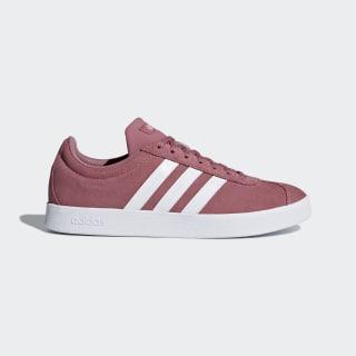 VL Court sko Trace Pink / Ftwr White / Silver Met. B42313