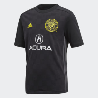 Columbus Crew SC Away Jersey Black / Yellow / Solid Grey CE6267