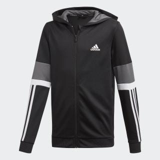 Equip Full Zip Hoodie black / grey five / white DV2926