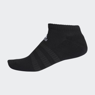 Cushioned Low-Cut Socks Black / Black / White DZ9389
