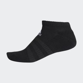 Meias Cushioned Low-Cut Black / Black / White DZ9389