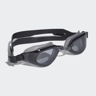Plavecké okuliare adidas persistar fit unmirrored Smoke Lenses / Black / White BR1059