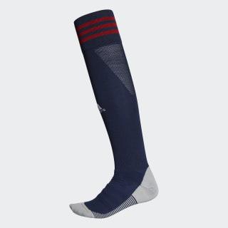 Calcetines a la rodilla AdiSocks collegiate navy / power red / white DW7390