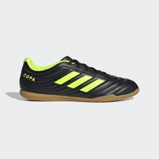 Chuteira Copa 19.4 - Futsal Core Black / Solar Yellow / Core Black BB8098