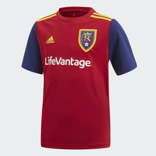Real Salt Lake Home Jersey Victory Red / Night Sky / Yellow Cab CE6277