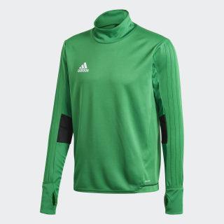Tiro 17 Training Shirt Green / Black / White BQ2738