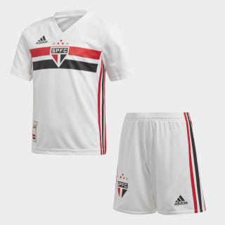 Mini Kit 1 São Paulo FC Top:white/black/red Bottom:WHITE/BLACK/RED S09 DZ5631