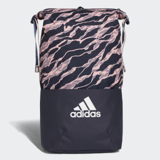 Mochila Core Graphic adidas Z.N.E. COLLEGIATE NAVY/CLEAR ORANGE/WHITE DM2792