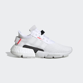 POD-S3.1 Shoes Cloud White / Cloud White / Shock Red DB2875