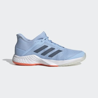 Adizero Club Schuh Glow Blue / Tech Ink / Hi-Res Coral G26548