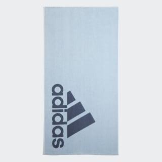 Asciugamano adidas grande Glow Blue / Tech Ink DY5140