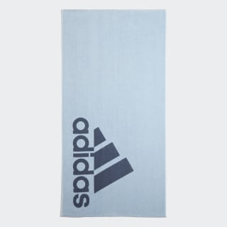 adidas Towel Large Glow Blue / Tech Ink DY5140