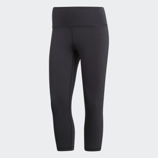 Tight 3/4 Believe This High-Rise Black CZ0196