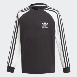 3-Stripes Long-Sleeve Top Black / White DV2900