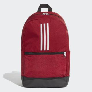 กระเป๋าสะพายหลัง Classic 3-Stripes Active Maroon / Black / White DZ8262